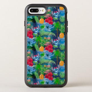 Lilo & Stich   Stitch Pattern OtterBox Symmetry iPhone 8 Plus/7 Plus Case