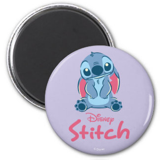 Lilo & Stich   Stitch & Scrump 2 Inch Round Magnet