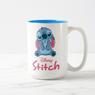 Lilo & Stich | Stitch & Scrump Two-Tone Coffee Mug