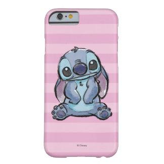 Lilo & Stich   Stitch Sketch Barely There iPhone 6 Case
