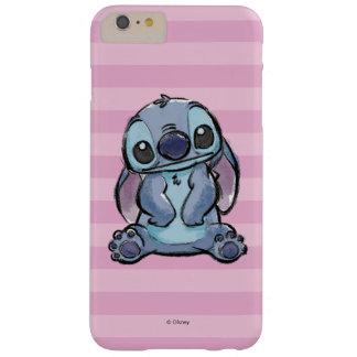 Lilo & Stich   Stitch Sketch Barely There iPhone 6 Plus Case