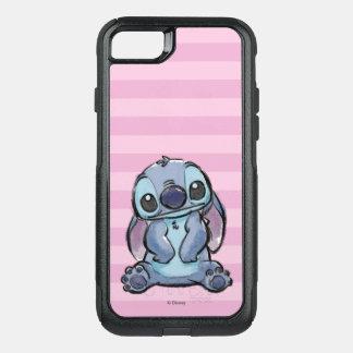 Lilo & Stich   Stitch Sketch OtterBox Commuter iPhone 8/7 Case