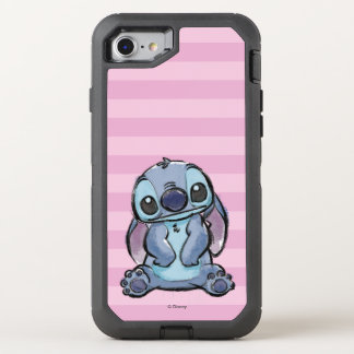 Lilo & Stich | Stitch Sketch OtterBox Defender iPhone 8/7 Case