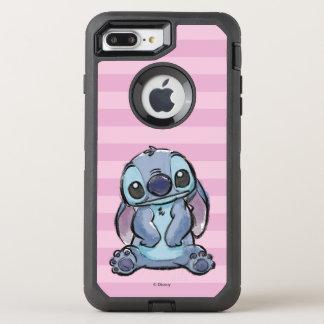 Lilo & Stich   Stitch Sketch OtterBox Defender iPhone 8 Plus/7 Plus Case