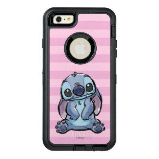 Lilo & Stich   Stitch Sketch OtterBox Defender iPhone Case