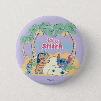 Lilo & Stitch | Come visit the islands! 2 Inch Round Button