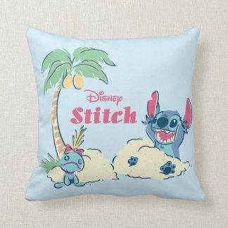 Lilo & Stitch | Ohana Means Family Throw Pillow