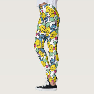 Lilo & Stitch   Pineapple Pattern Leggings