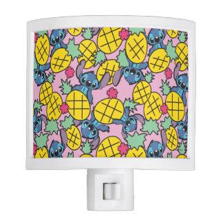 Lilo & Stitch | Pineapple Pattern Night Lights