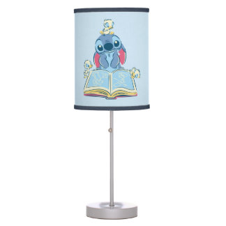 Lilo & Stitch | Reading the Ugly Duckling Table Lamps
