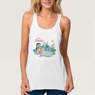 Lilo & Stitch | Reading the Ugly Duckling Tank Top
