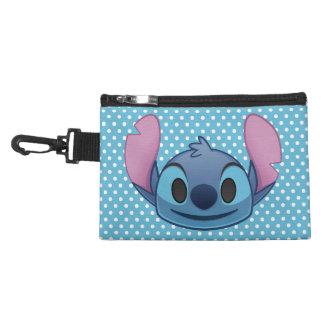 Lilo & Stitch | Stitch Emoji Accessories Bag