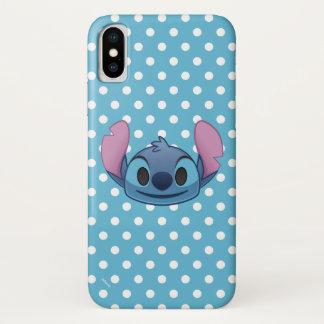 Lilo & Stitch | Stitch Emoji iPhone X Case