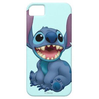 Lilo & Stitch Stitch excited iPhone 5 Cases