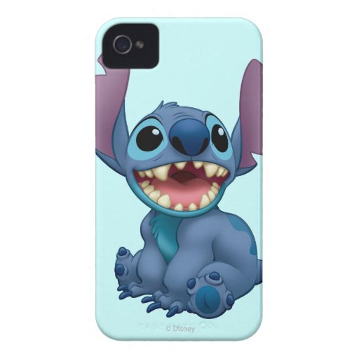 Lilo & Stitch Stitch excited iPhone 4 Cases