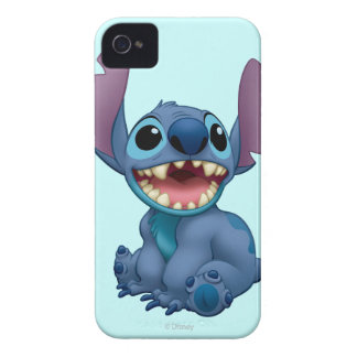 Lilo Stitch Stitch excited iPhone 4 Cases