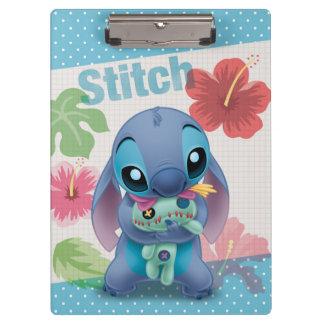 Lilo & Stitch | Stitch with Ugly Doll Clipboards