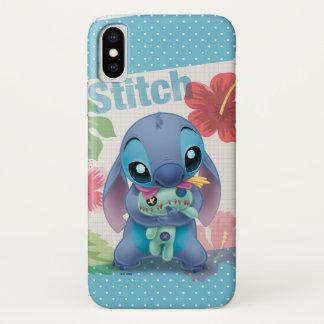Lilo & Stitch | Stitch with Ugly Doll iPhone X Case