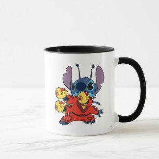 Lilo & Stitch's Stitch with Ray Guns Mug