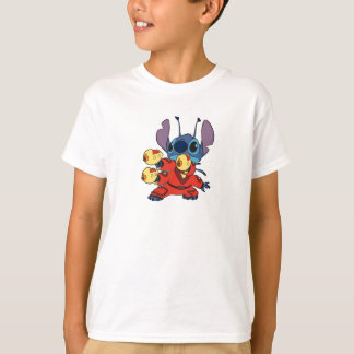 Lilo & Stitch's Stitch with Ray Guns T-Shirt