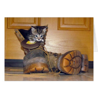 Lilo's Boots Greeting Card