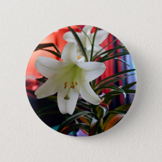 Lily 2 Inch Round Button