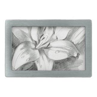 lily-2 rectangular belt buckles