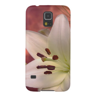 Lily flower galaxy s5 cover