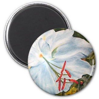 Lily Flower Magnet