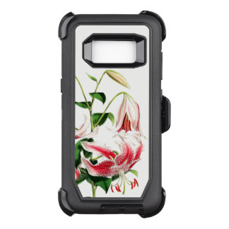 Lily Flowers Art Defender Samsung Galaxy S8 Case