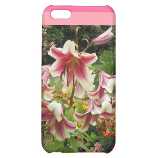 Lily flowers on iphone cases iPhone 5C cases