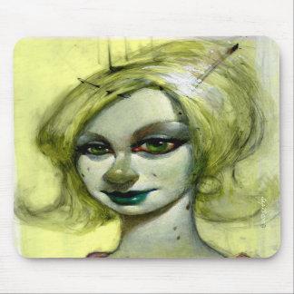 """Lily Green"" Mousepad"