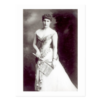 Lily Langtry (1853-1929) performing at the Haymark Postcard