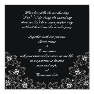 Lily Love Wedding Invitation
