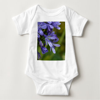Lily of the Nile  (Agapanthus sp.) Baby Bodysuit