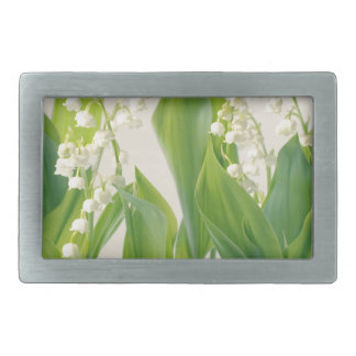 Lily of the Valley Belt Buckles