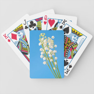 lily of the valley bicycle playing cards