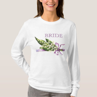Lily of the Valley BRIDE t-shirt