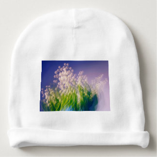 Lily of the Valley Dance in Blue Baby Beanie