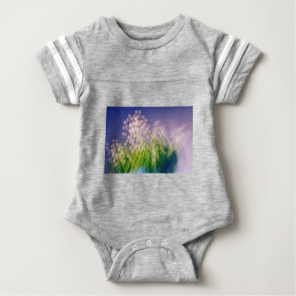 Lily of the Valley Dance in Blue Baby Bodysuit