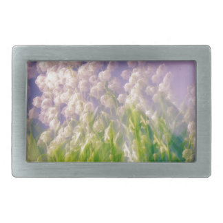 Lily of the Valley Dance in Blue Belt Buckle