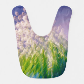 Lily of the Valley Dance in Blue Bib
