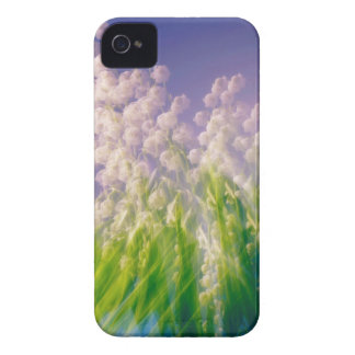 Lily of the Valley Dance in Blue Case-Mate iPhone 4 Case