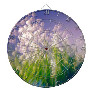 Lily of the Valley Dance in Blue Dartboard
