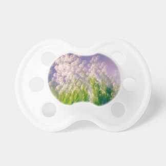 Lily of the Valley Dance in Blue Pacifier