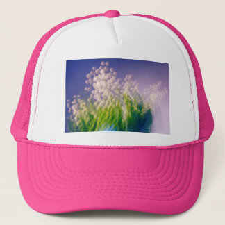 Lily of the Valley Dance in Blue Trucker Hat