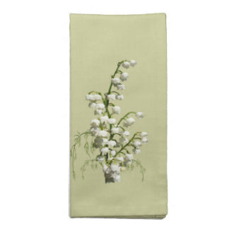 Lily-of-the-Valley Floral American MoJo Napkin