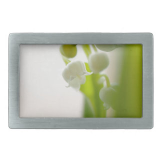 Lily of the Valley Flower Belt Buckles