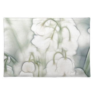 Lily of the Valley Flower Bouquet Placemat