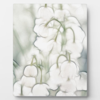 Lily of the Valley Flower Bouquet Plaque